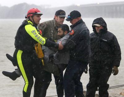 Lake Waco rescue