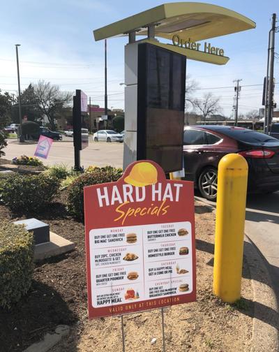 McDonald's Hard Hat Specials