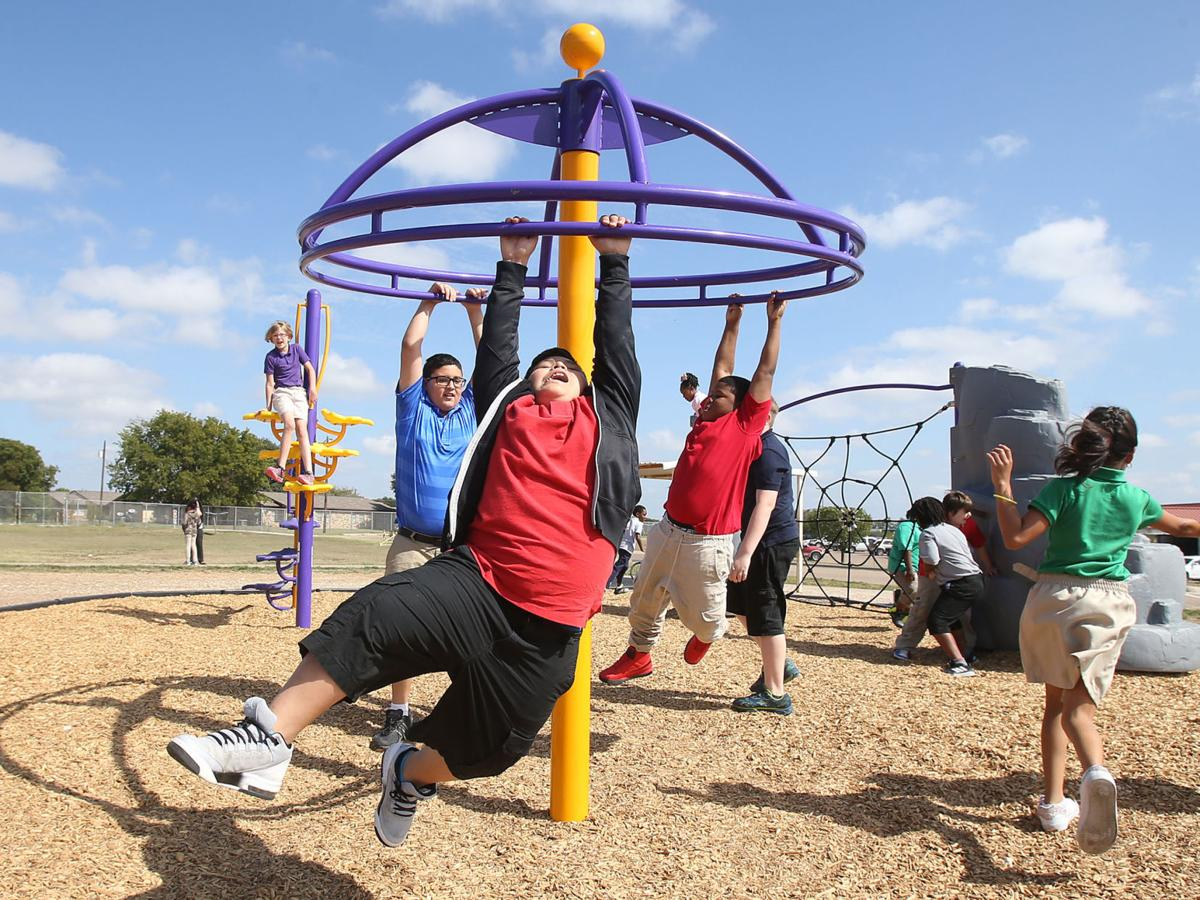 New playground brings pride to Marlin elementary students