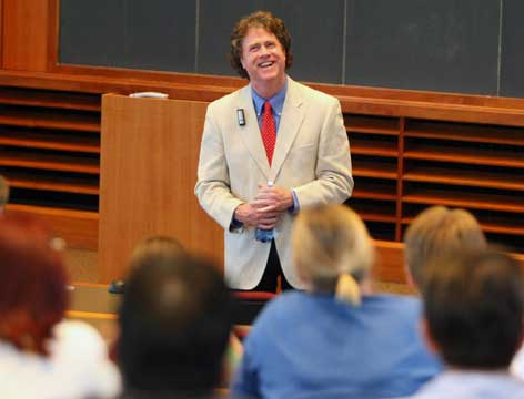 Baylor law professor bids dramatic farewell to school, students
