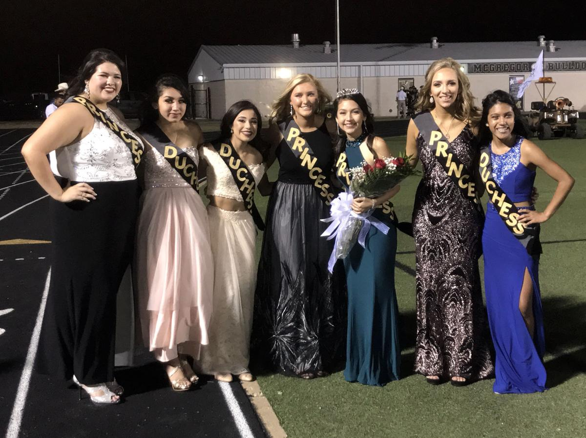McGregor homecoming court pic