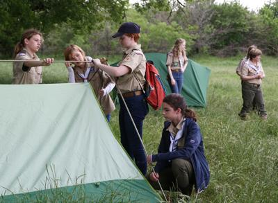 Waco girls on path to Eagle Scout rank for 1st time in group's history