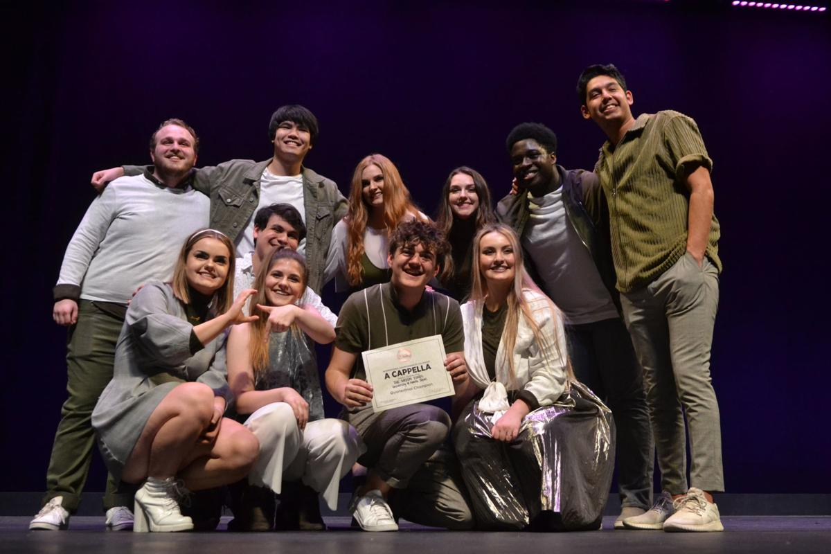 A cappella singers reach semifinal contest | Community news