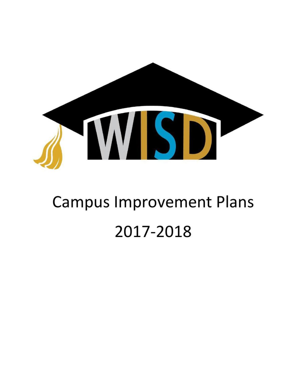 Waco ISD campus improvement plans 2017-2018