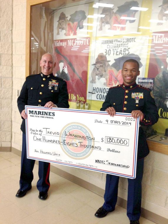 Midway Student Surprised By 180 000 Scholarship Award Military