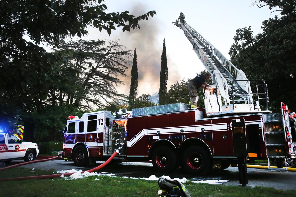 House fire in Cameron Park