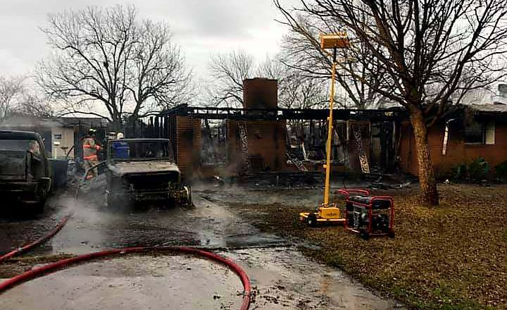 China Spring house fire