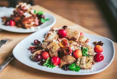 Sweet/tart: 2 savory cherry recipes