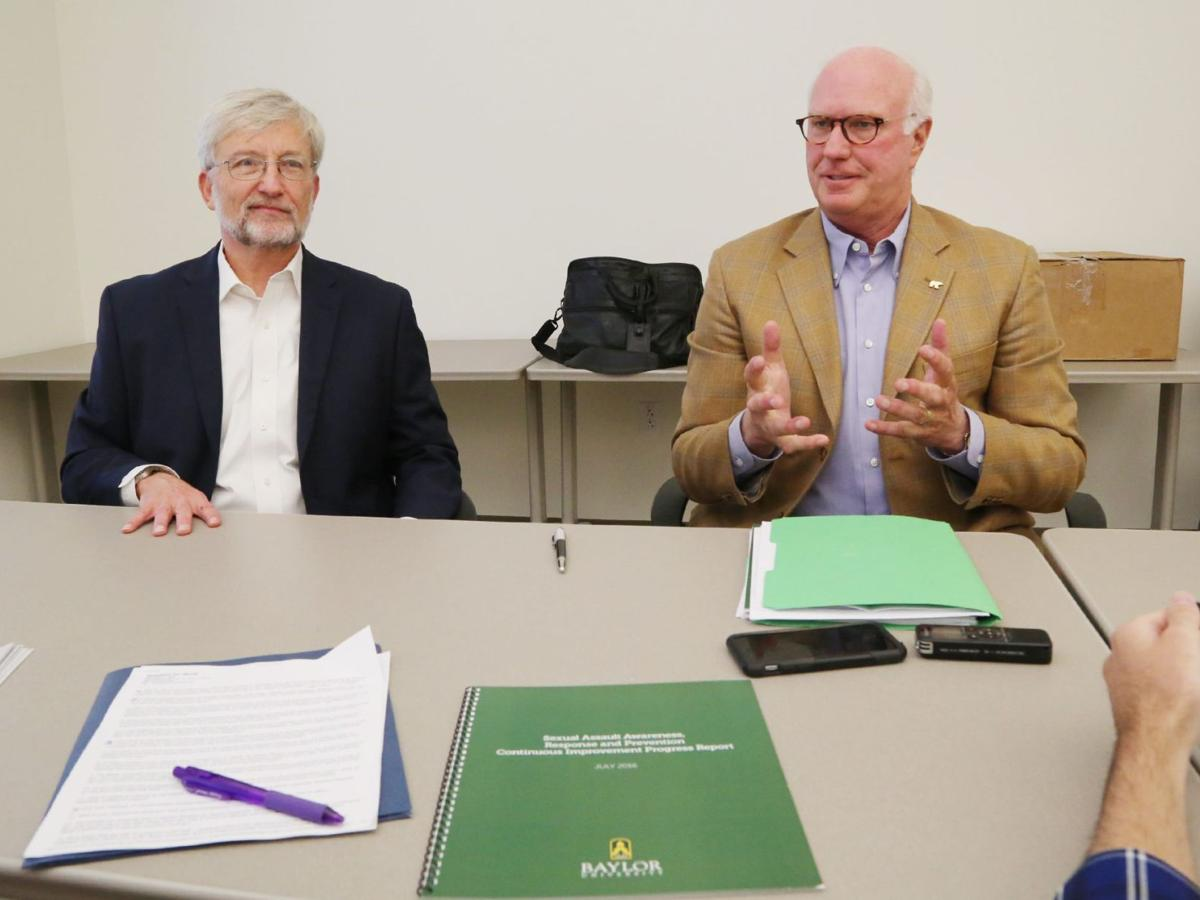Changing mindsets, outlooks amid uproar at Baylor: Q&A with BU regent chair Ron Murff, interim president David Garland