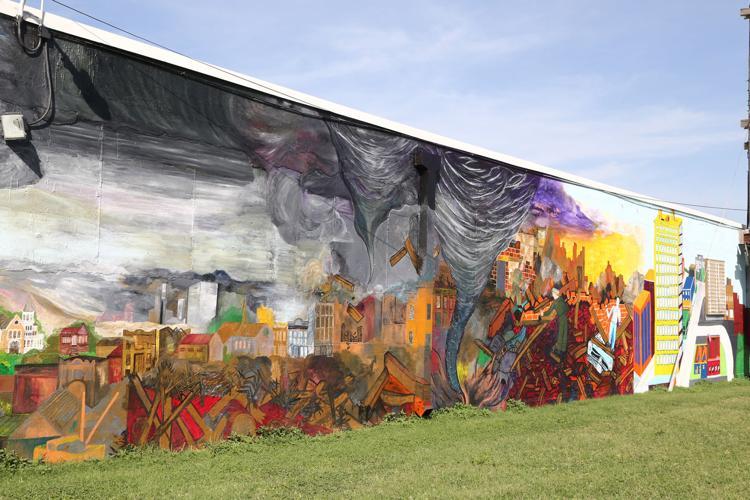 Diversified  mural