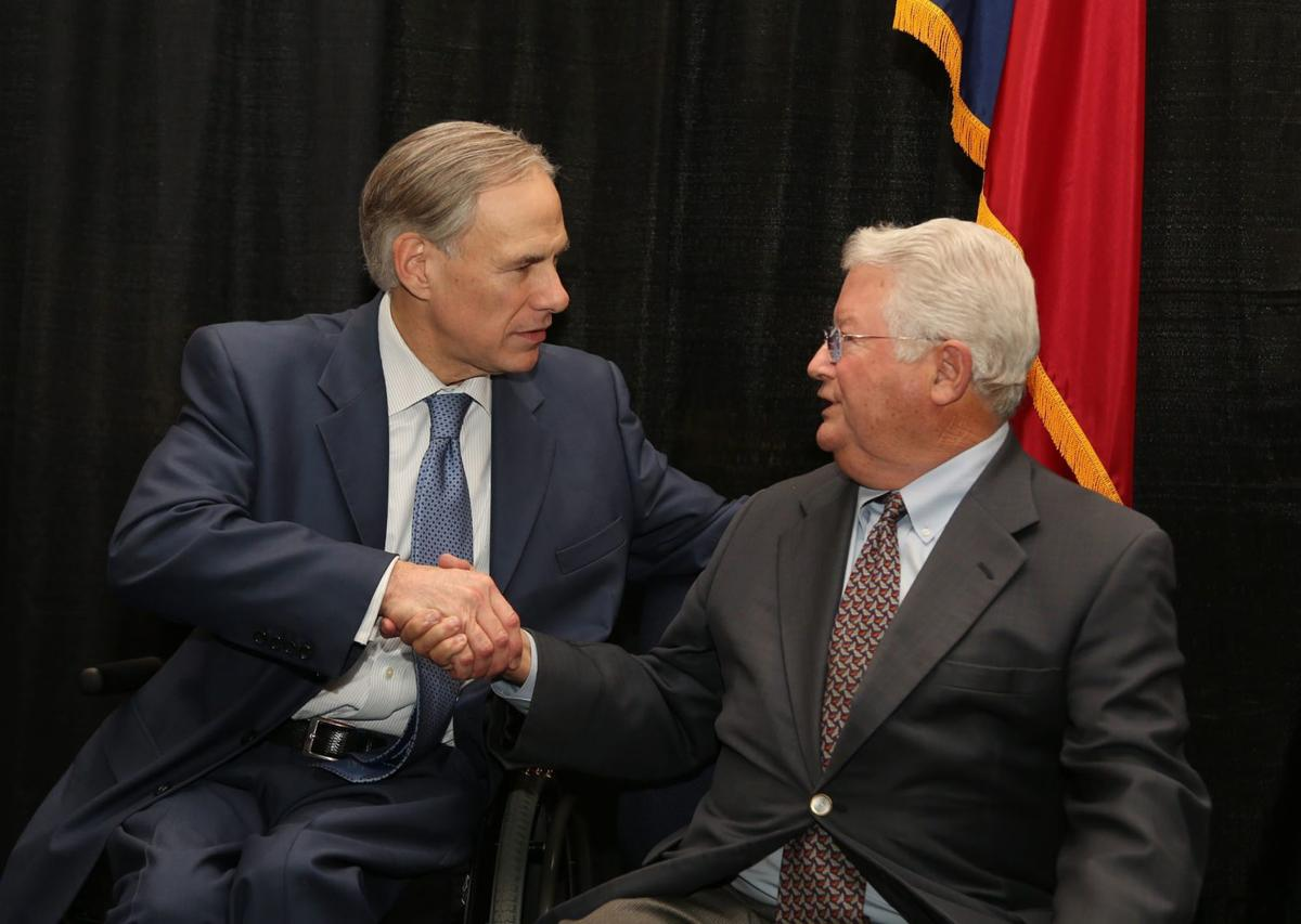 Greg Abbott and Scott Felton - 2017