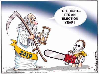 Saturday top cartoon