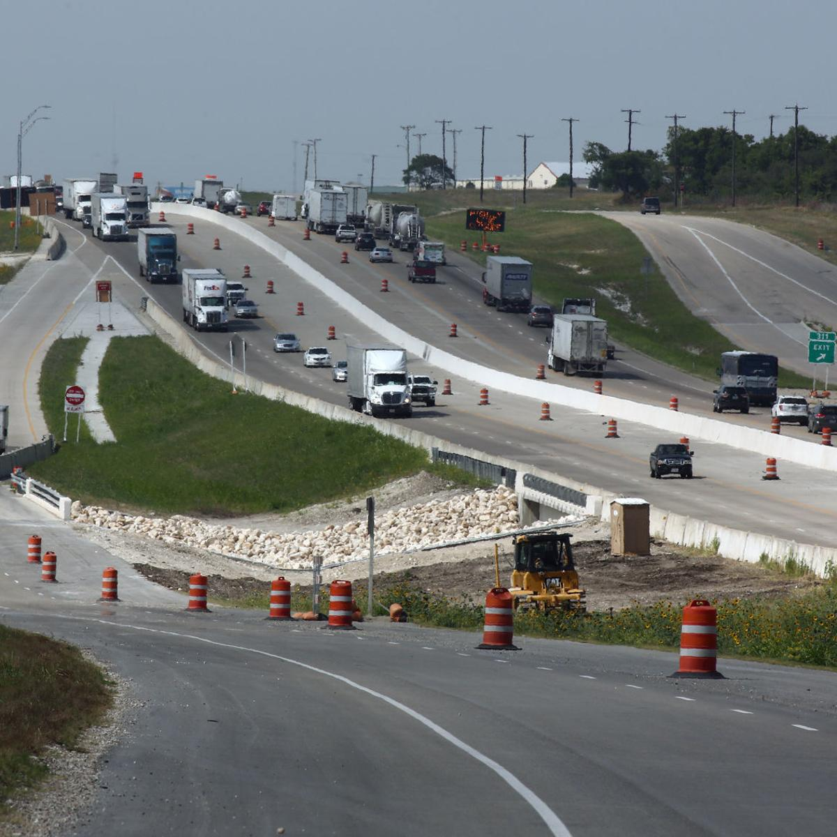 Steve Boggs: I'm dreaming of new and improved frontage roads along