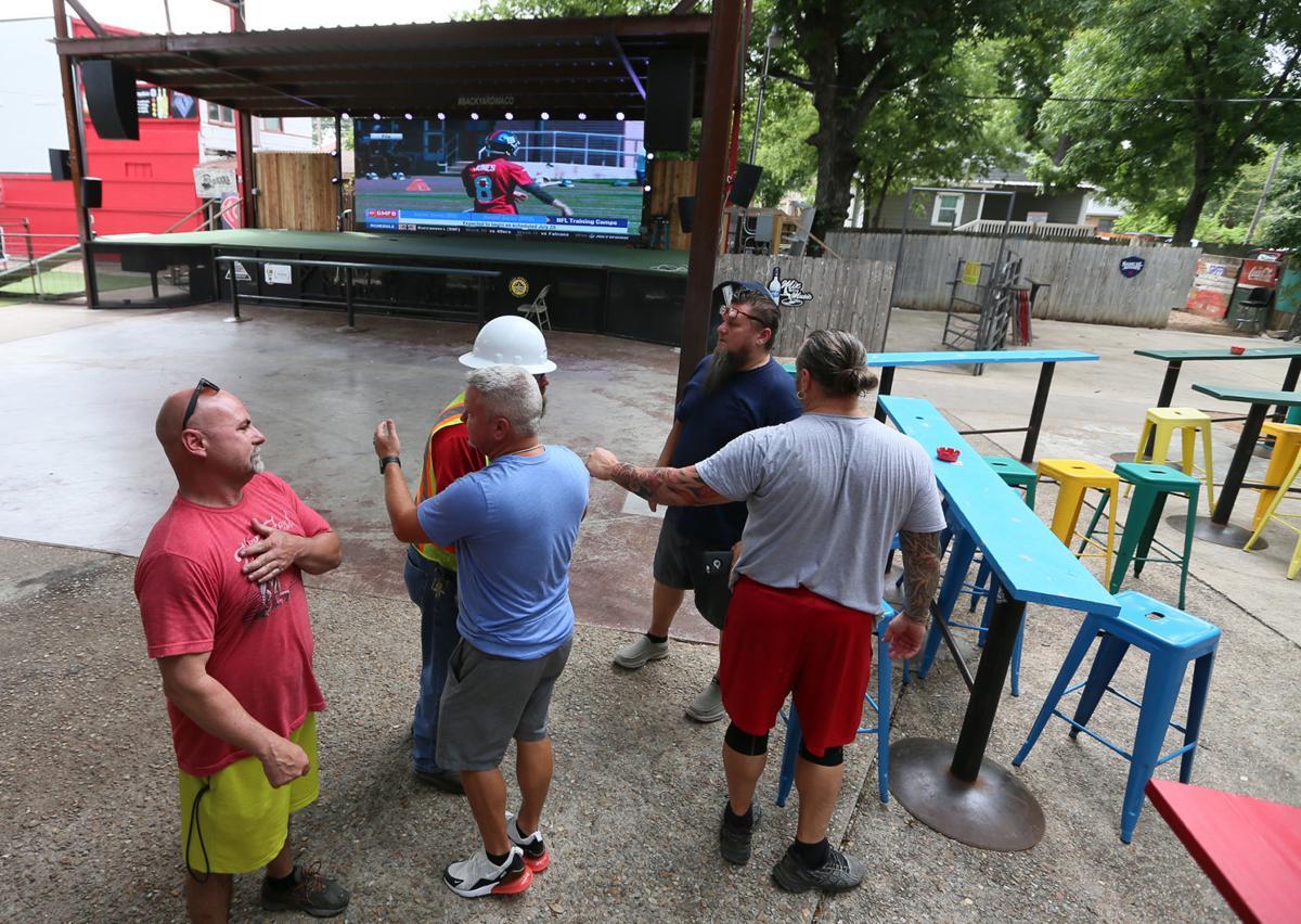 Backyard bars covid