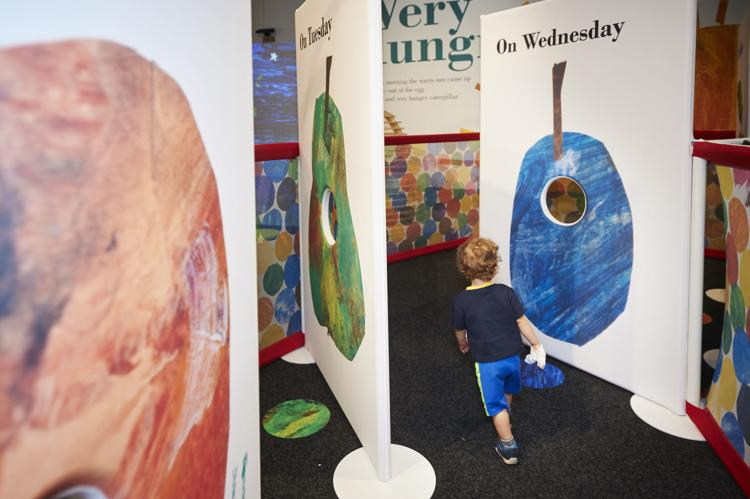 Eric Carle exhibit at Mayborn