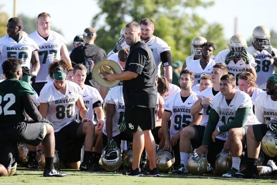 Baylor Bears Fall Practice