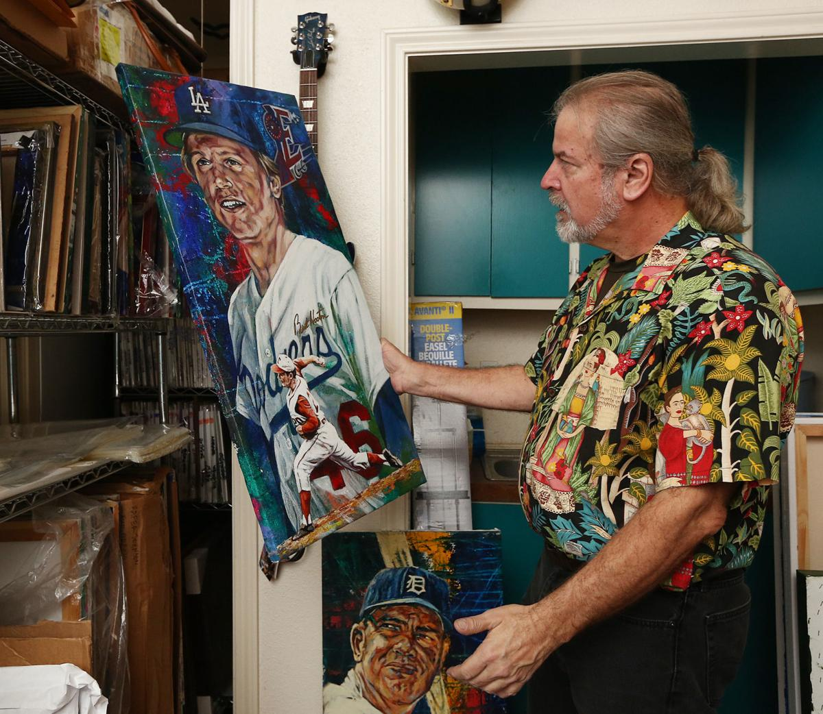 Texas Sports Hall of Fame artist