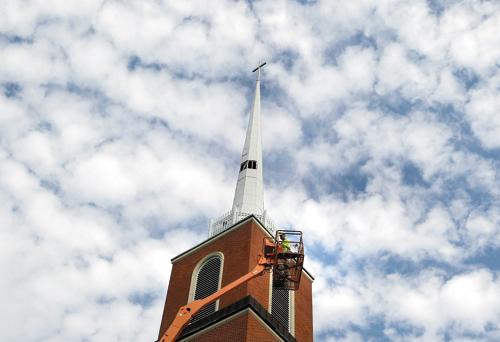Central Christian Church on Lake Shore Drive.