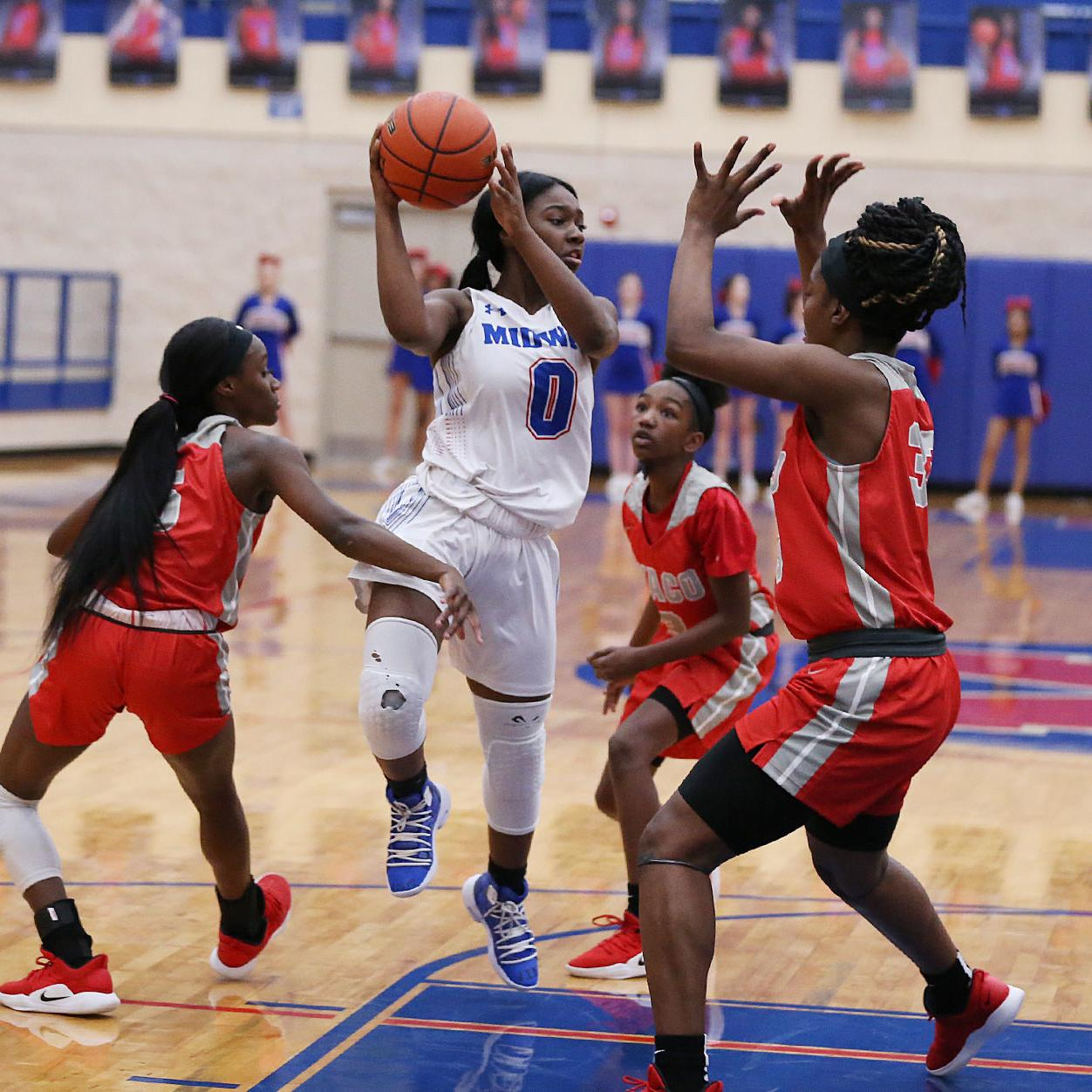 Midway Pantherettes unleash 3-point barrage in rout of Waco
