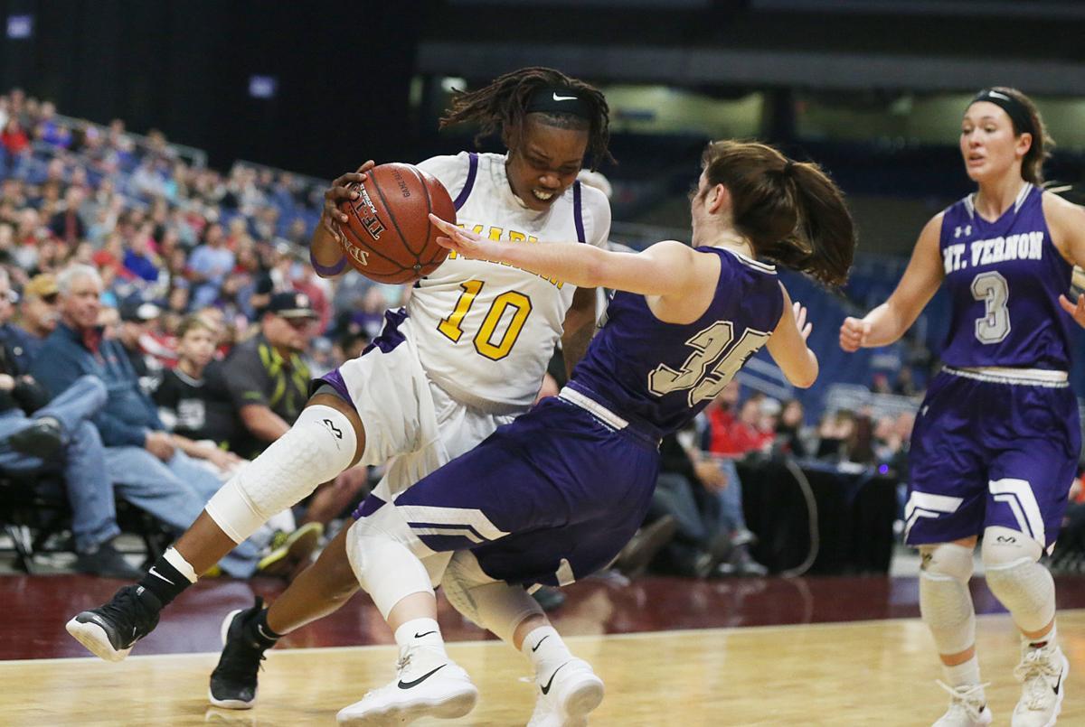 Marlin Mount Vernon State girls championship