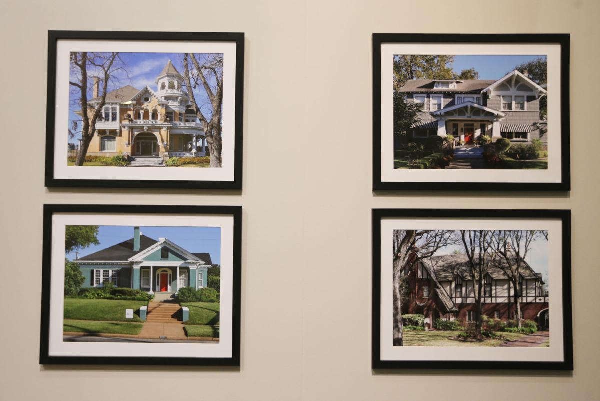 Mayborn Museum homes