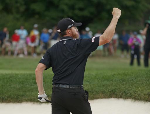 Jimmy Walker wins a marathon at the PGA Championship
