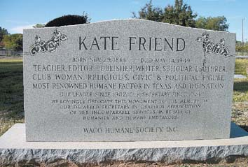 All God's creatures, great and small: Miss Kate Friend loved them all