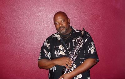 Saxophonist Rob Holbert
