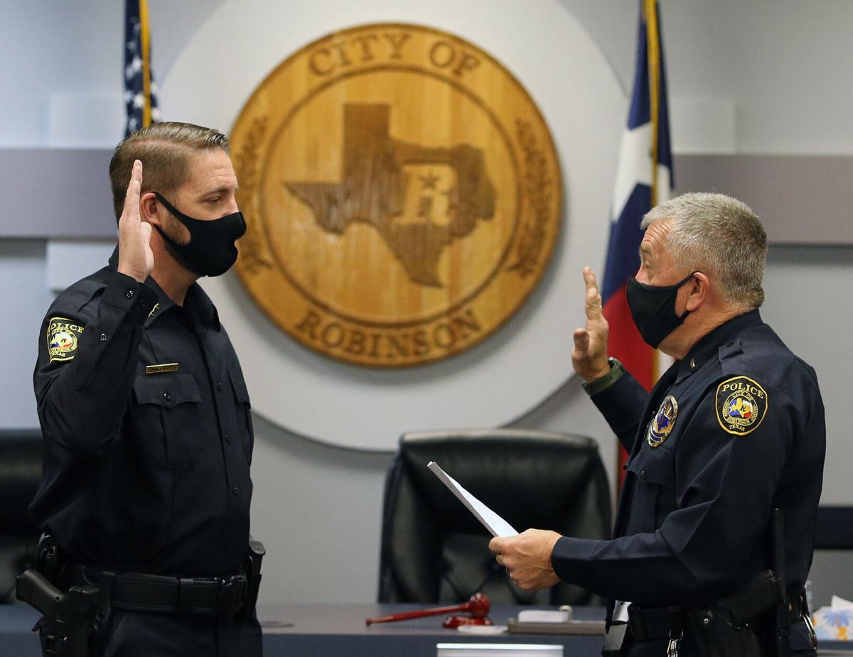 robinson police chief