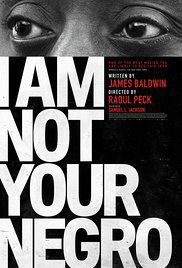 """I Am Not Your Negro"" poster"