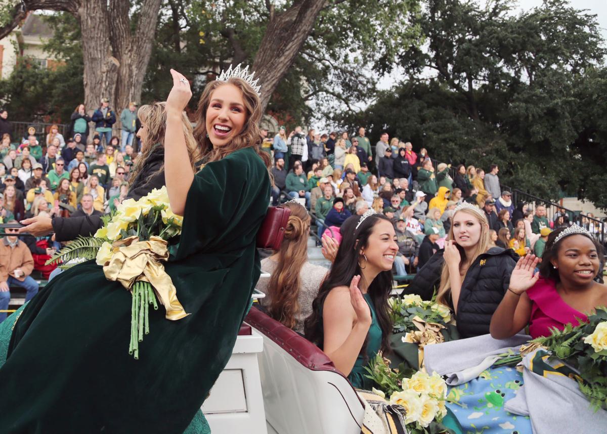 Baylor homecoming parade