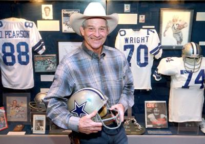 d5aab1c20f8 TEXAS SPORTS HALL OF FAME: WALT GARRISON (True Cowboy, hat and all ...