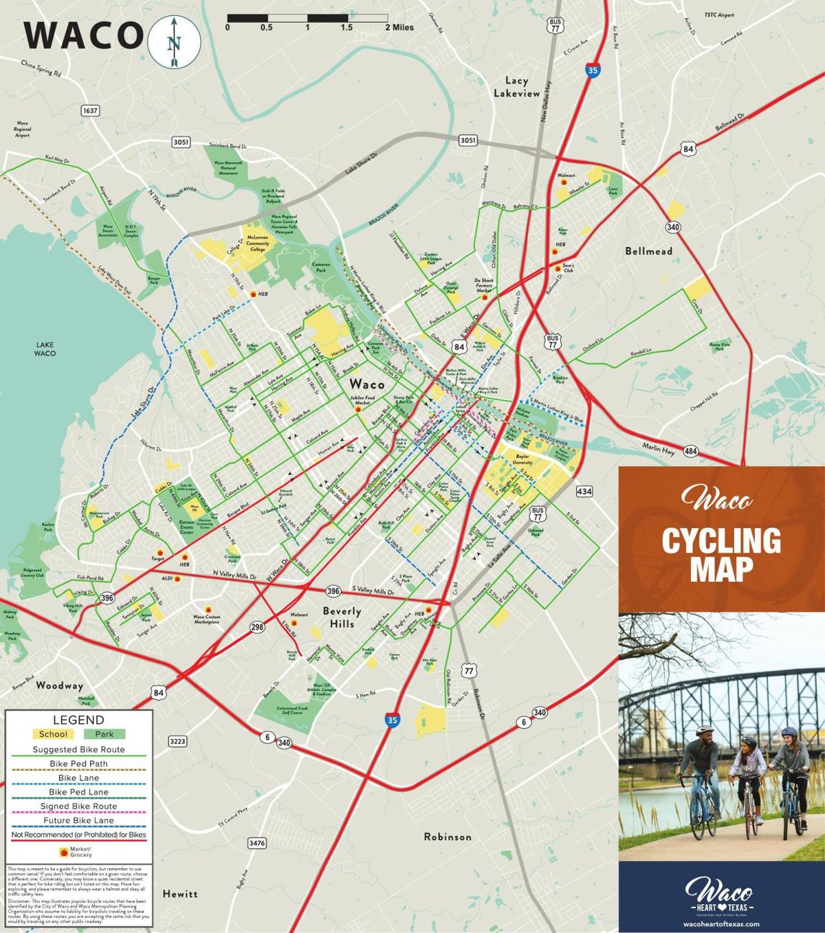 PDF: Waco cycling map