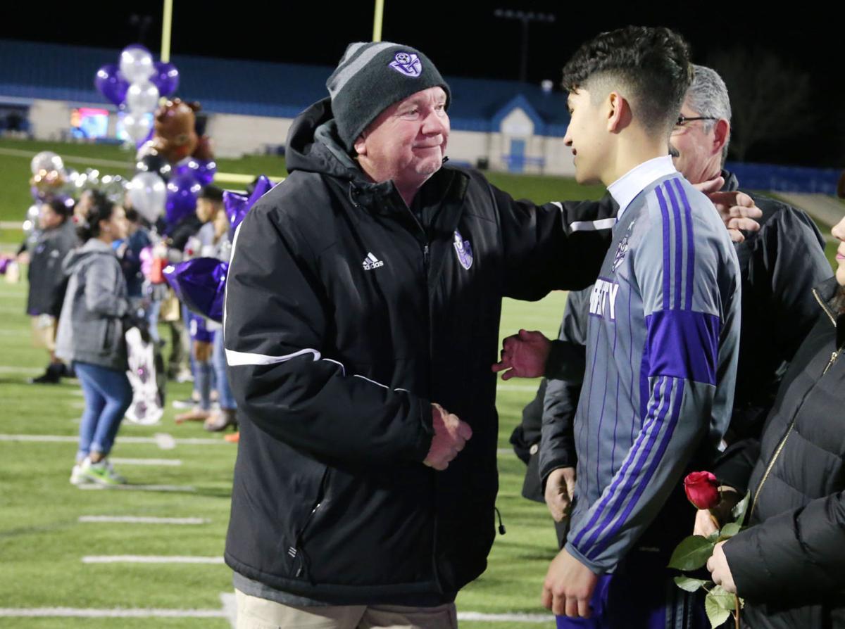 Univerity high school soccer coach