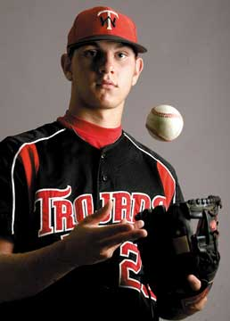 SUPER CENTEX BASEBALL TEAM: West sophomore a force at plate, on mound
