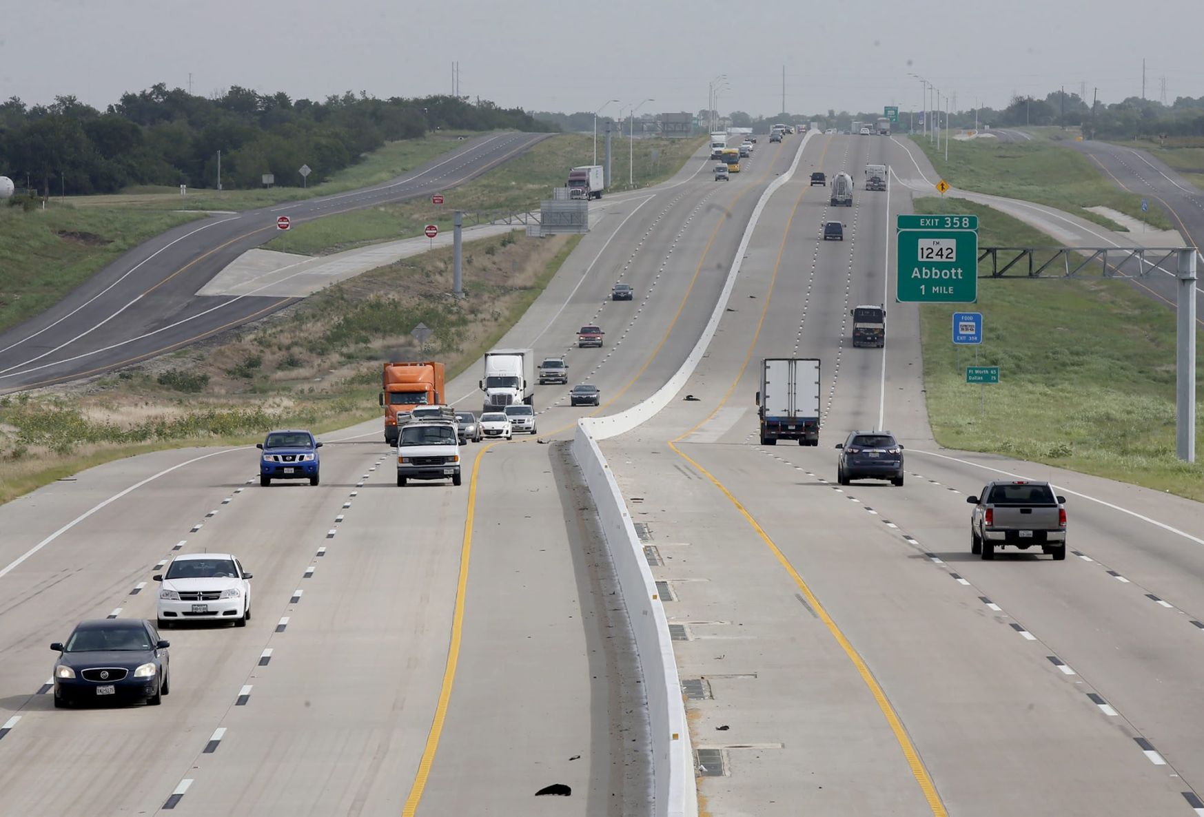 I 35 construction virtually complete north of Waco