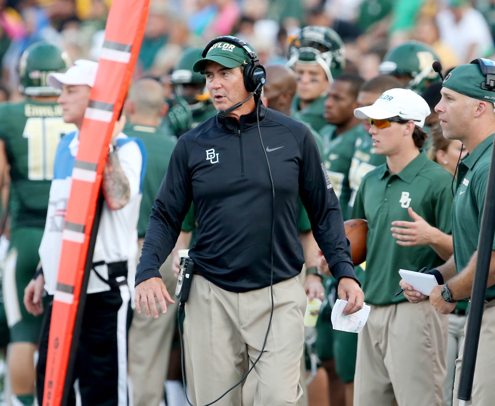 Former Baylor coach Briles hired by Mt. Vernon ISD as head