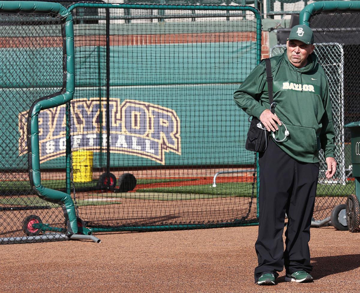 Baylor softball Mark Lumley