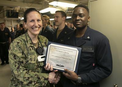 Navy certificate