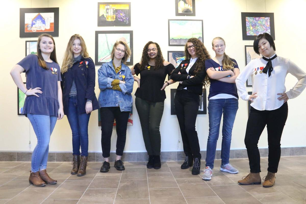 Midway artists advance to state contest community news midway vase state qualifiers reviewsmspy