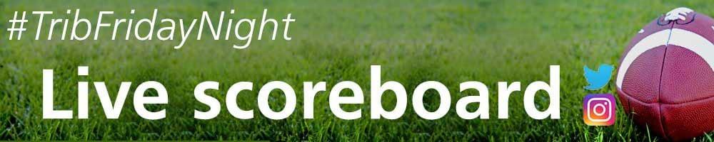TribFridayNight high school football scoreboard