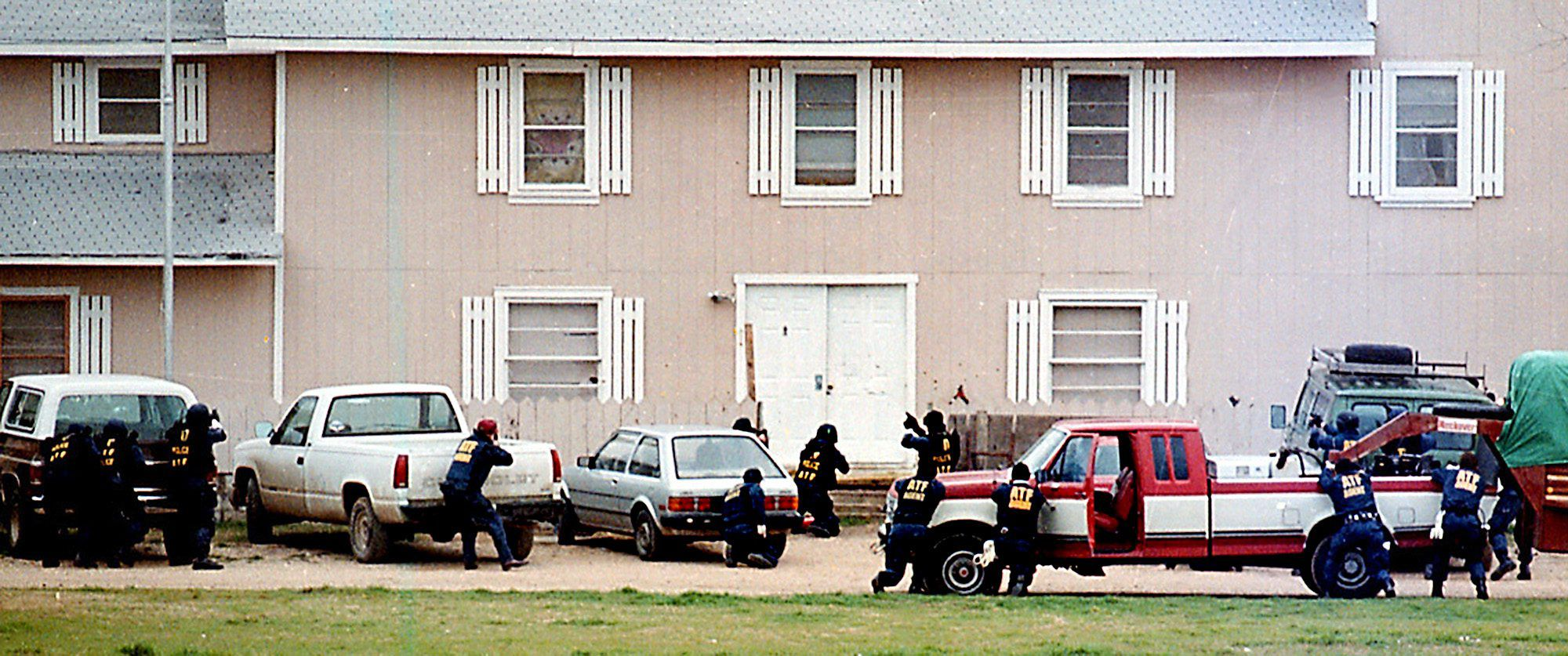 ATF raid on the Branch Davidian compound of Feb. 28, 1993.