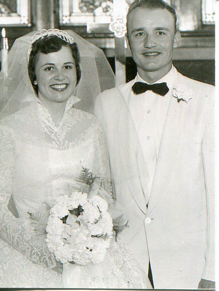 Don and Wilma Jansen 1957