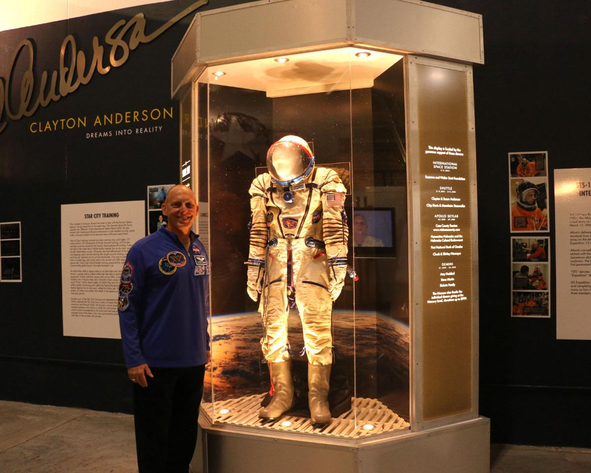 Spacesuit makes memorable trip to Ashland museum | News | wahoo ...