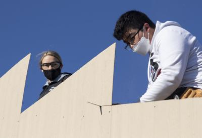 Building construction class teaches real-life experience