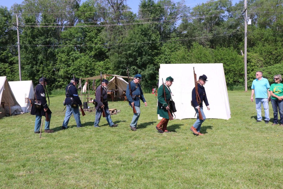Reenact out of camp.JPG