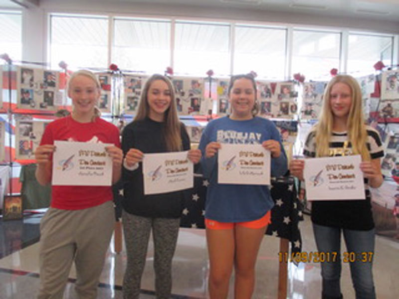 ptacek writes winning vfw patriotic pen essay news wahoo patriotic pen winners of the patriotic pen essay contest sponsored by the vfw post 9776 auxiliary are from left eighth graders annalise ptacek first