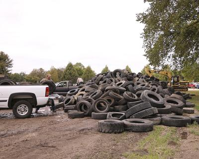 Tire collection