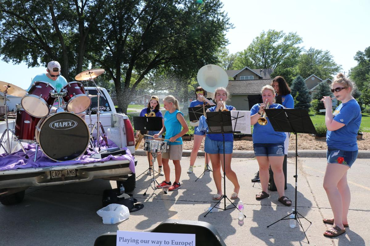 Students playing to europe local news wahoo ashland for The waverly