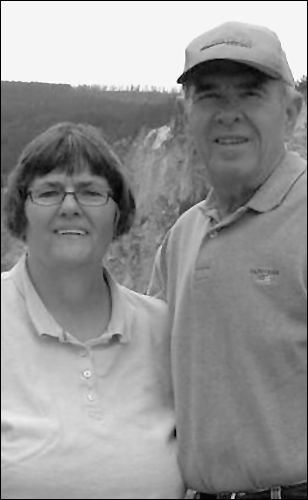 Peterson couple celebrating 50 years